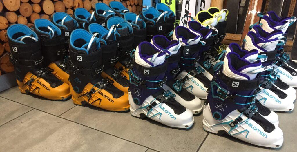 Buty skiturowe Wisła i Szczyrk